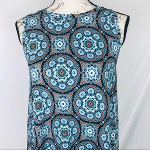 LOFT Dresses - LOFT Retro pattern Dress